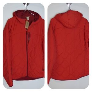Duluth Trading Agiloft Quilted Hooded Jacket NWT